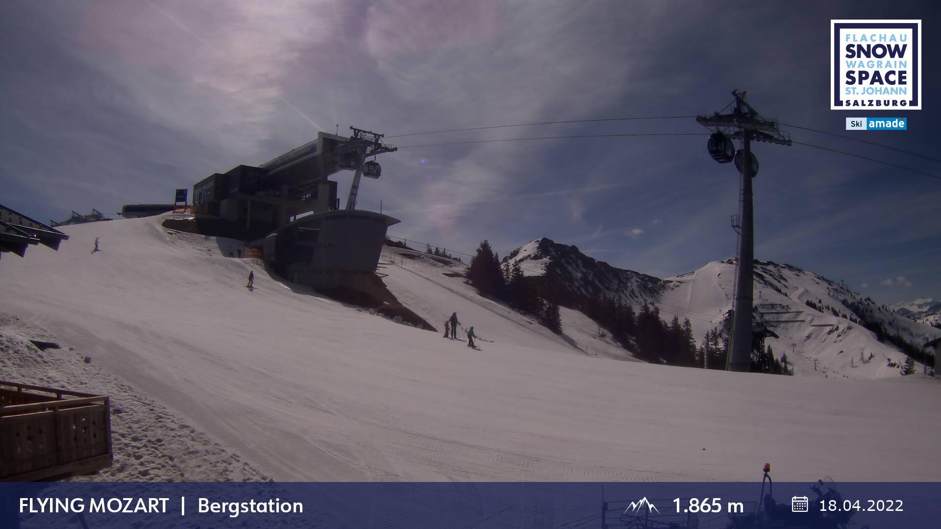 Baustellen Webcam Flying Mozart Bergstation
